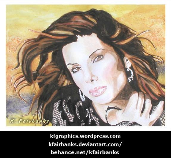 Sandra Bullock by kfgraphics